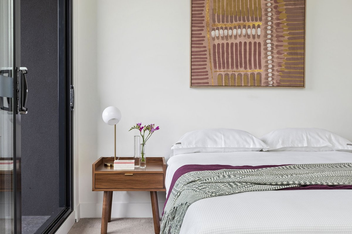hand-picked materials for superior composition in every room
